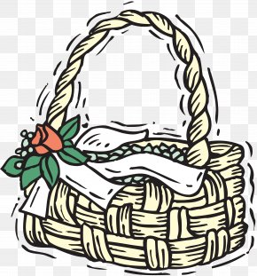 Easter Basket - Food Gift Baskets Easter Basket Clip Art PNG