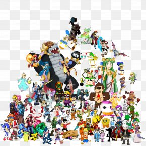 Pixel Art Super Smash Bros - Grand Ole Opry Super Smash Bros. Concert Cartoon PNG