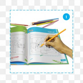 Book - Coloring Book Augmented Reality Hafiz Child PNG