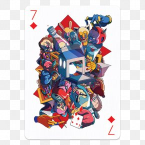 Design - French Playing Cards Art Graphic Design Ace Of Spades PNG