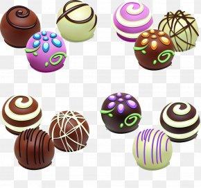 Black And White Chocolate - Chocolate Ice Cream Chocolate Balls Chocolate Cake PNG