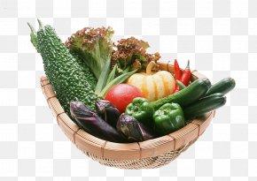 A Basket Of Fruits And Vegetables - Vegetable Food Fruit Health Agriculture PNG