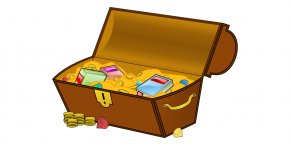 Treasure - Buried Treasure Book Library Clip Art PNG