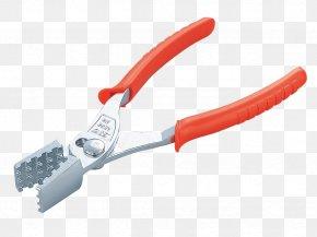 Pliers - Diagonal Pliers Hand Tool Lineman's Pliers Wire Stripper PNG