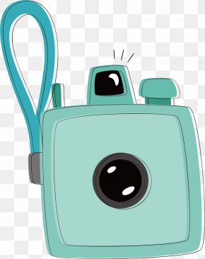 Blue Camera Vector - Digital Cameras PNG