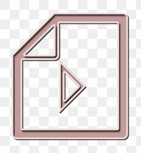 Rectangle Video File Icon - Document Icon File Icon Filetype Icon PNG