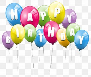 Balloon Background Cliparts - Happy Birthday To You Risbridger Ltd Clip Art PNG