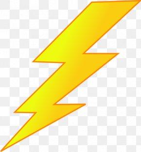 Cartoon Lightning - Lightning Drawing Free Content Clip Art PNG