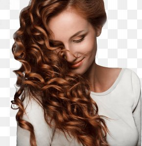 Beautiful Hair - Hair Permanents & Straighteners Hairstyle Beauty Parlour Brown Hair PNG