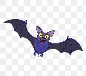 Bat - Little Brown Bat Drawing Animal Echolocation Vampire Bat PNG