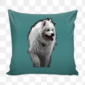 Pillow - Samoyed Dog Dog Breed Throw Pillows Cushion PNG