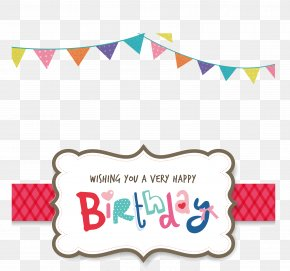 Vector Birthday Party - Birthday Party Greeting Card Clip Art PNG