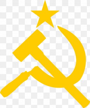 Soviet Union Logo - Flag Of The Soviet Union Hammer And Sickle Symbol PNG