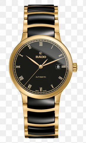 Watch - Rado Centrix Automatic Watch Rolex Day-Date PNG