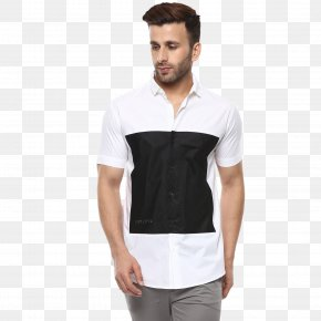 T-shirt - T-shirt Sleeve White Dress Shirt PNG