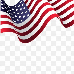 American Flag Vector Material PNG