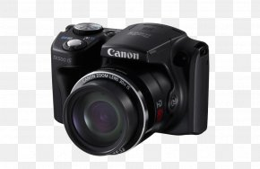 Camera - Canon PowerShot SX500 IS Canon PowerShot SX410 IS Zoom Lens Photography PNG