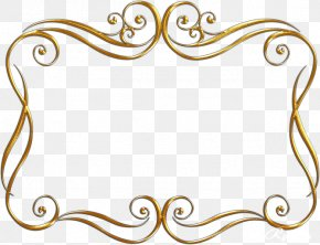 Gold Vector - Picture Frames Ornament Photography Clip Art PNG