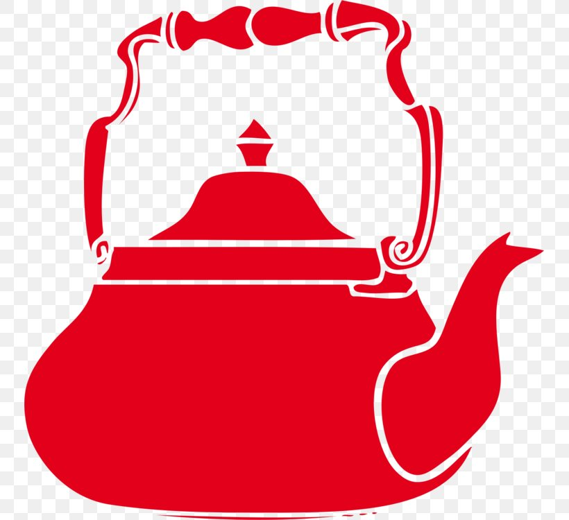 Kettle Red Teapot Clip Art Cookware And Bakeware, PNG, 749x750px, Kettle, Cookware And Bakeware, Red, Teapot Download Free