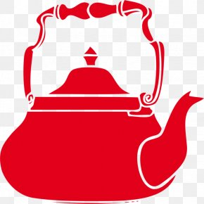 Cookware And Bakeware Teapot - Kettle Red Teapot Clip Art Cookware And Bakeware PNG
