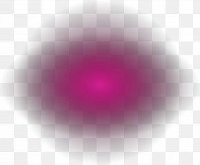 Purple Dream Halo - Circle Close-up Computer Pattern PNG