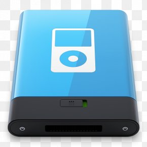 Blue IPod W - Electronic Device Ipod Multimedia Electronics Accessory PNG