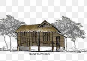 Balik Kampung - Property House Cottage Log Cabin Hut PNG