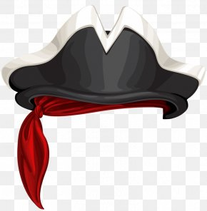 Cool Pirate Hat - Hat Piracy Headgear PNG