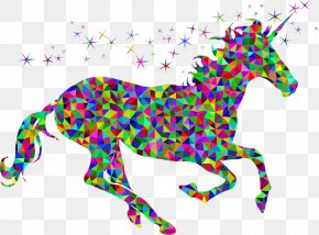 Unicorn Background - Unicorn Desktop Wallpaper Clip Art PNG