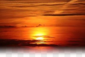 Golden Sunset PNG