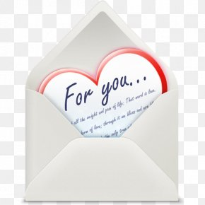 Love Letter Cliparts - Heart Love Letter Email Icon PNG