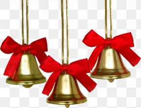 Bell - Christmas Ornament Christmas Decoration Jingle Bell PNG