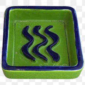 Aries - Cobalt Blue Green Rectangle Font PNG