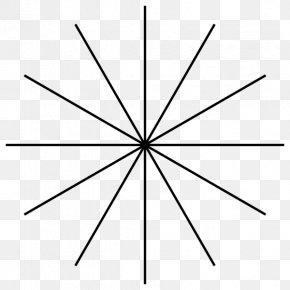 Polygon Blue - Star Polygon Astigmatism Angle Eye PNG