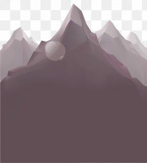 Mountain View - Euclidean Vector Mountain Fundal PNG