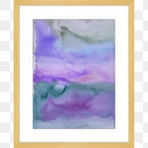 Painting - Watercolor Painting Modern Art Acrylic Paint PNG