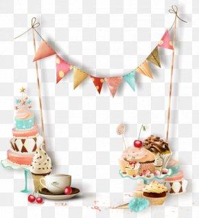 Birthday Cake Ribbon - Birthday Holiday Gift Hope New Year PNG