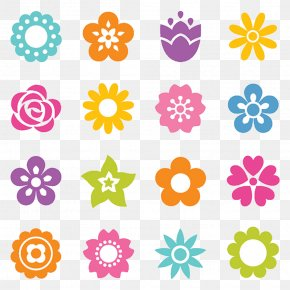 Beautiful Flowers Vector Material - Flower Stock Photography Icon PNG
