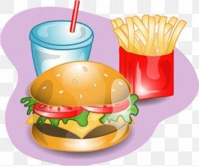 Hot Dog - Hamburger French Fries Cheeseburger Hot Dog Clip Art PNG