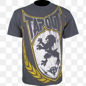 T-shirt - T-shirt Tapout Sleeve Logo PNG