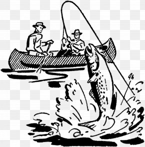 Fishing - Fishing Fisherman Drawing Clip Art PNG