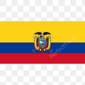 Flag - Flag Of Ecuador National Flag Coat Of Arms Of Ecuador PNG