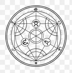 Magic Circle - Edward Elric Nuclear Transmutation Magic Circle Alchemy PNG