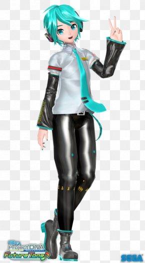 Hatsune Miku - Hatsune Miku Project Diva F MikuMikuDance Vocaloid Sega PNG