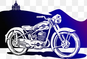 Motorbike - Scooter Car Motorcycle Clip Art PNG