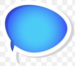 Blue Bubbles Cliparts - Text Speech Balloon Blue Editing PNG