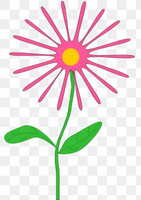 April Flowers Cliparts - Pink Flowers Clip Art PNG