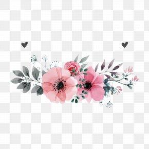 Pink Flowers Vector - Wedding Invitation Flower PNG