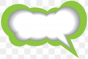 Speech Bubble Green White Clip Art Image - Atmosphere Of Earth MacBook Air Adobe AIR PNG