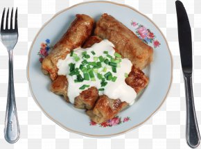 Dishes - Cabbage Roll Desktop Wallpaper Display Resolution PNG